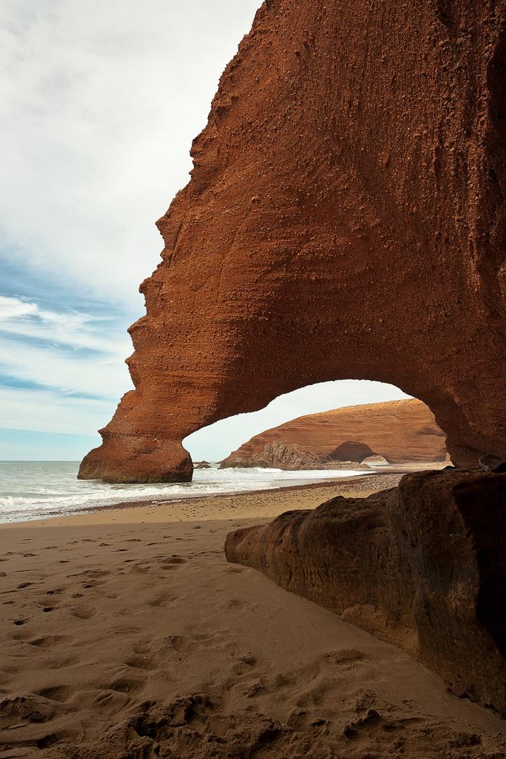 Strand in Marokko