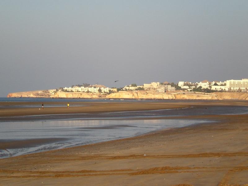 Strand in Maskat