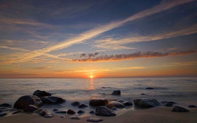 Strand in Miedzyzdroje [Misdroy]