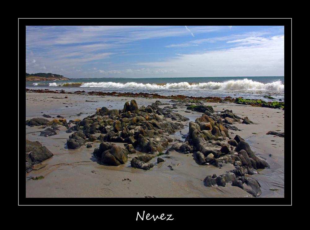 Strand in Nevez