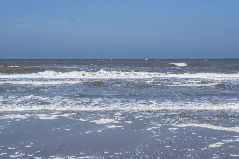 Strand in Noordwijk / Holland