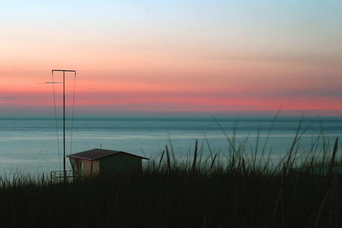 Strand in Oostkapelle / NL am 17. Juli 2005 um 22.57 Uhr