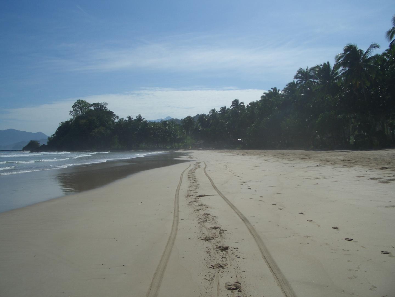 Strand in Sabang, Puerto Princesa, Philippinen