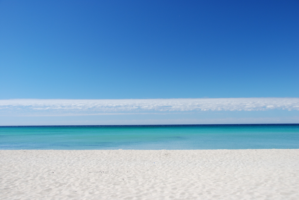 Strand in Southwest Australia..