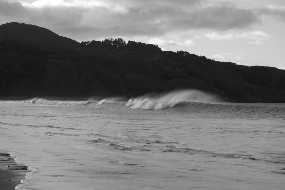 Strand in Te Araroa