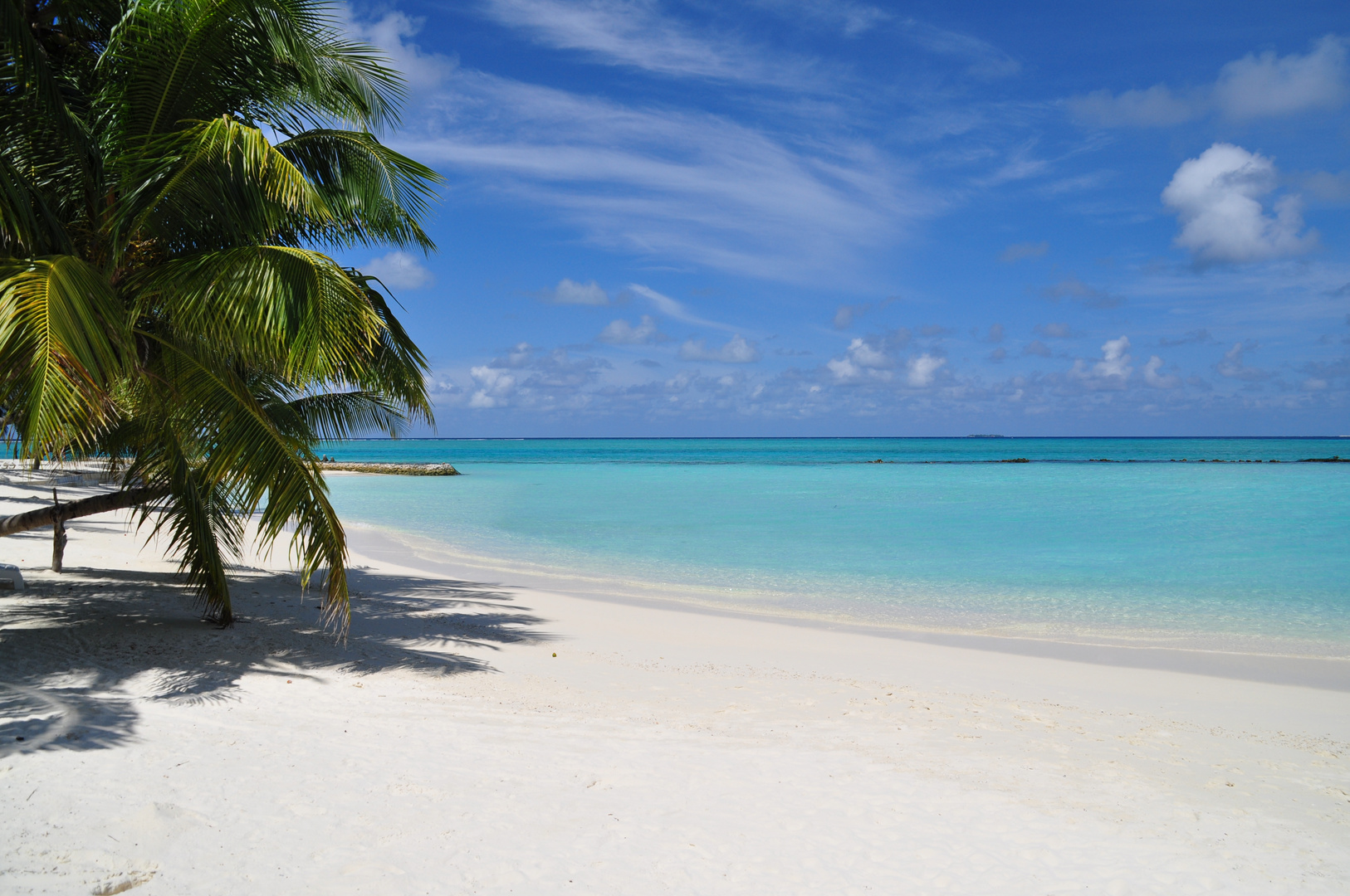 strand malediven summer island village foto bild landschaft meer strand natur bilder auf. Black Bedroom Furniture Sets. Home Design Ideas