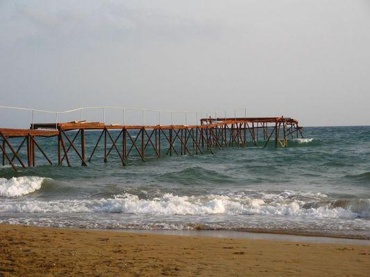 Strand nähe von Side Türkei