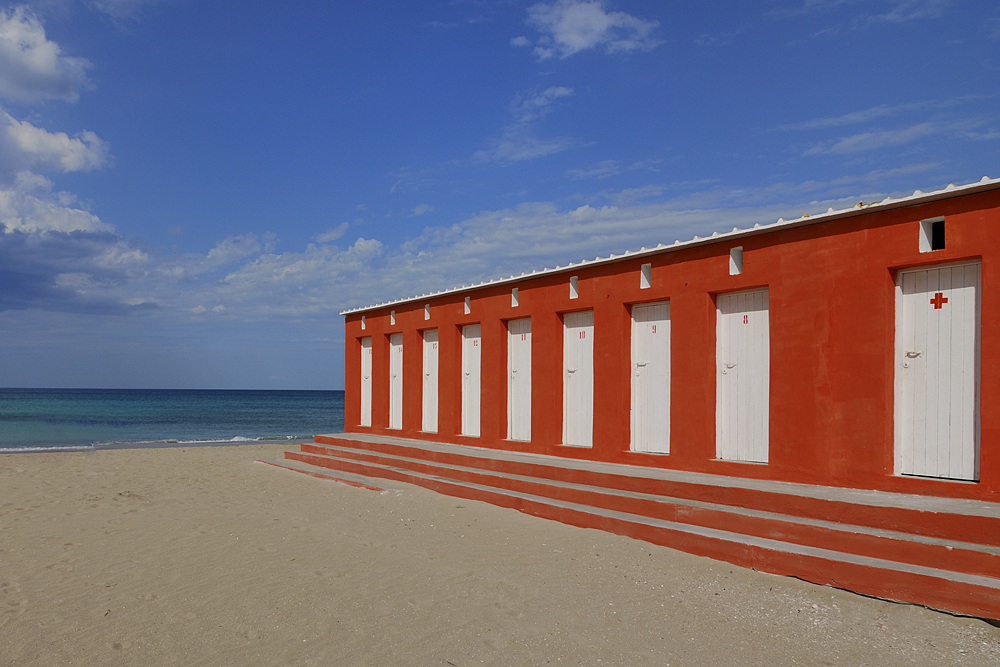 Strand orange
