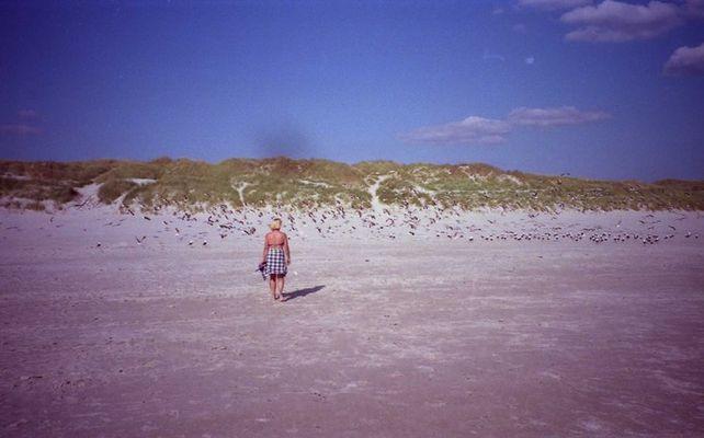 Strand satt