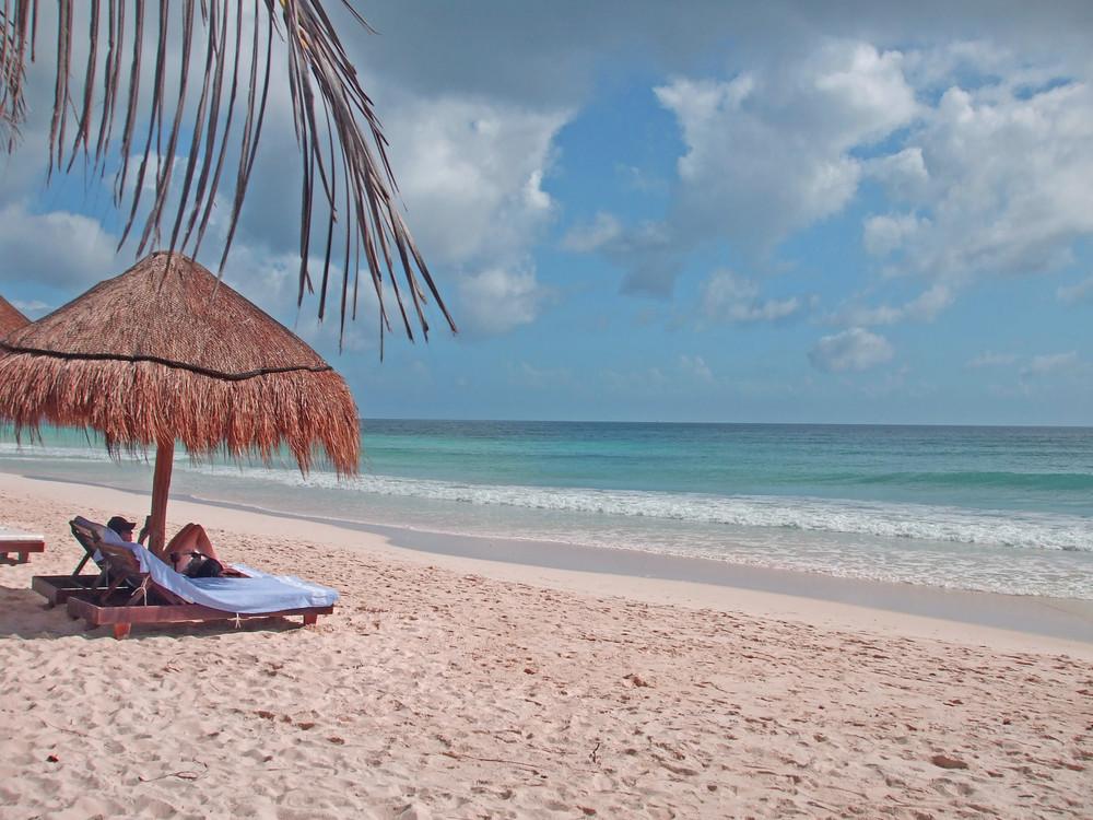 Strand - Tulum - Mexiko