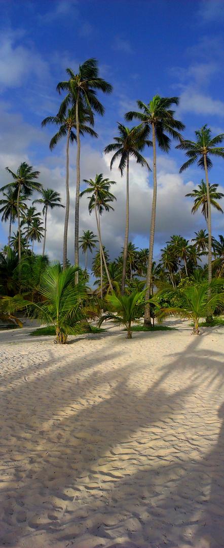 Strand von anderen Seite