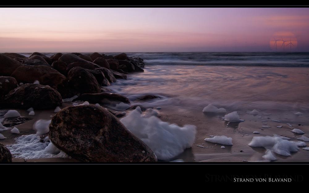 """"""" Strand von Blavand """""""