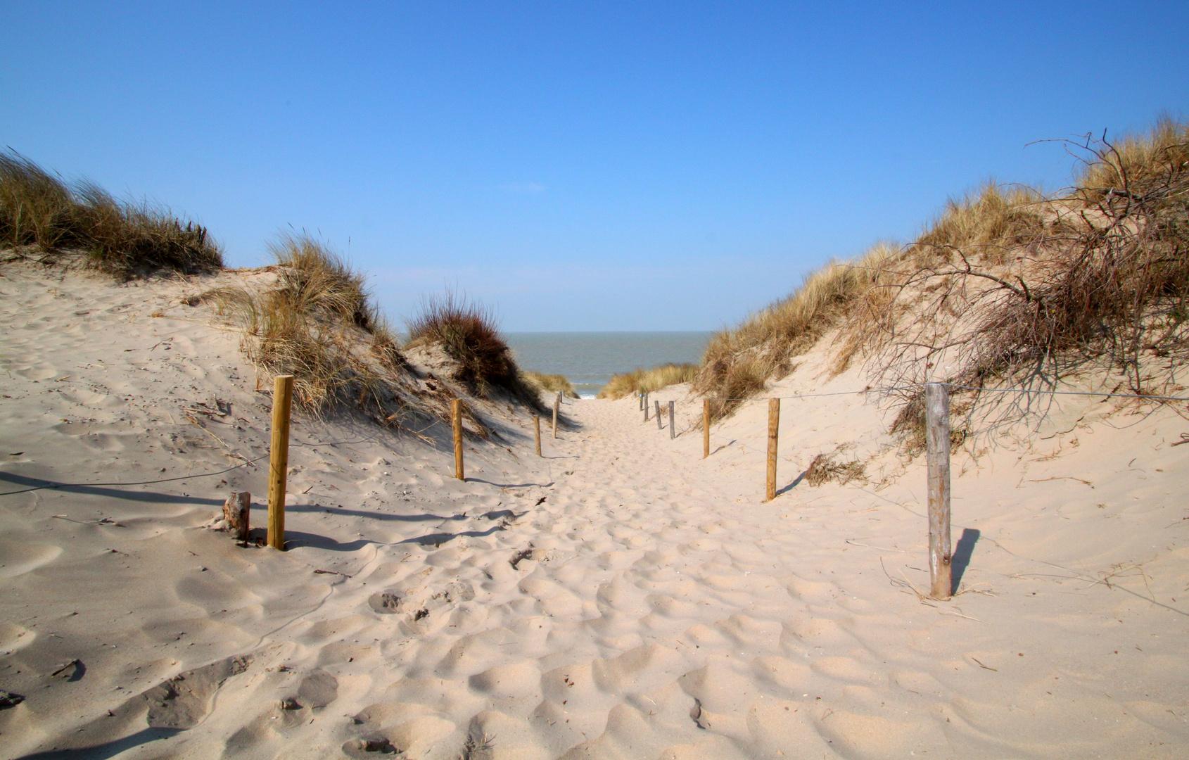 Strand von Bredene