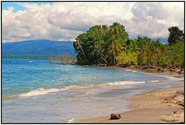 Strand von Cahuita in Costa Rica