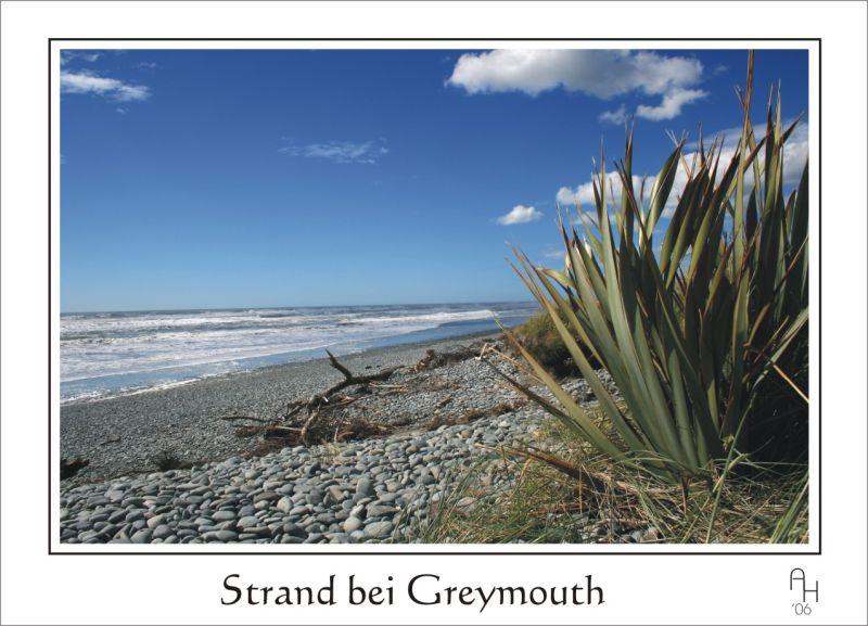 Strand von Greymouth