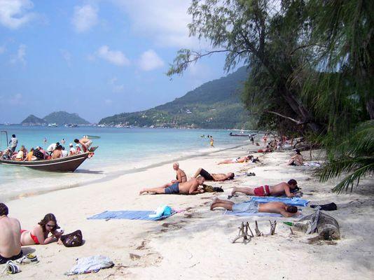 Strand von Koh Tao