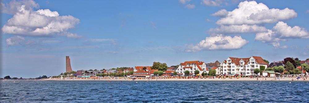 Strand von Laboe bei Kiel