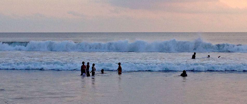 Strand von Legian , Bali