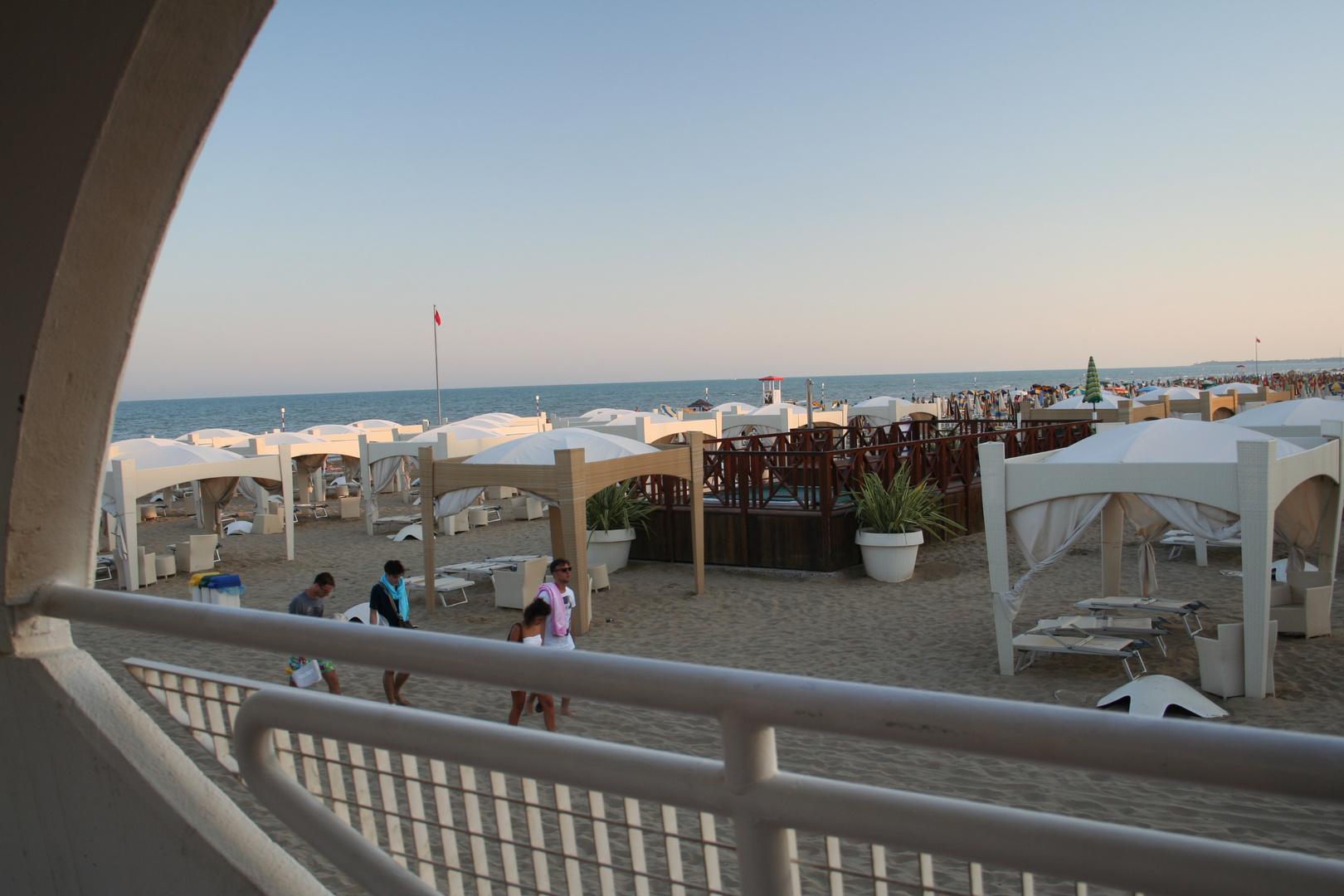 Strand von Lignano