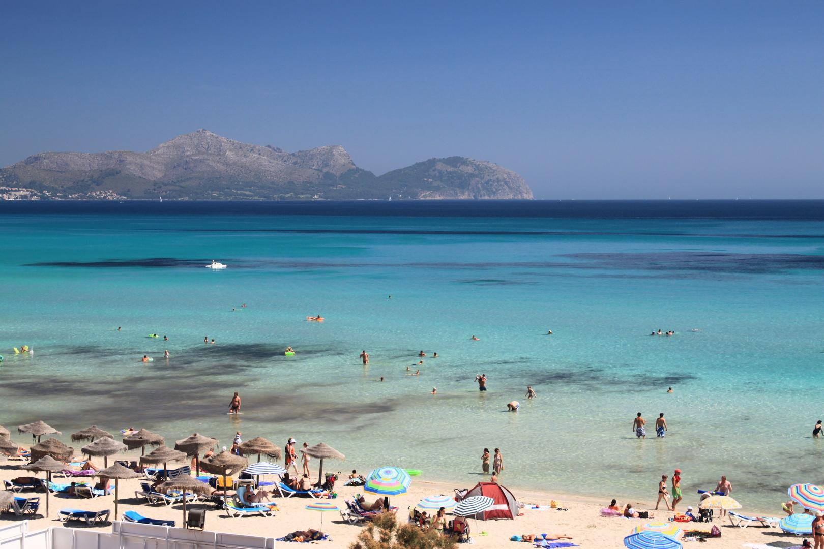 Strand von Mallorca