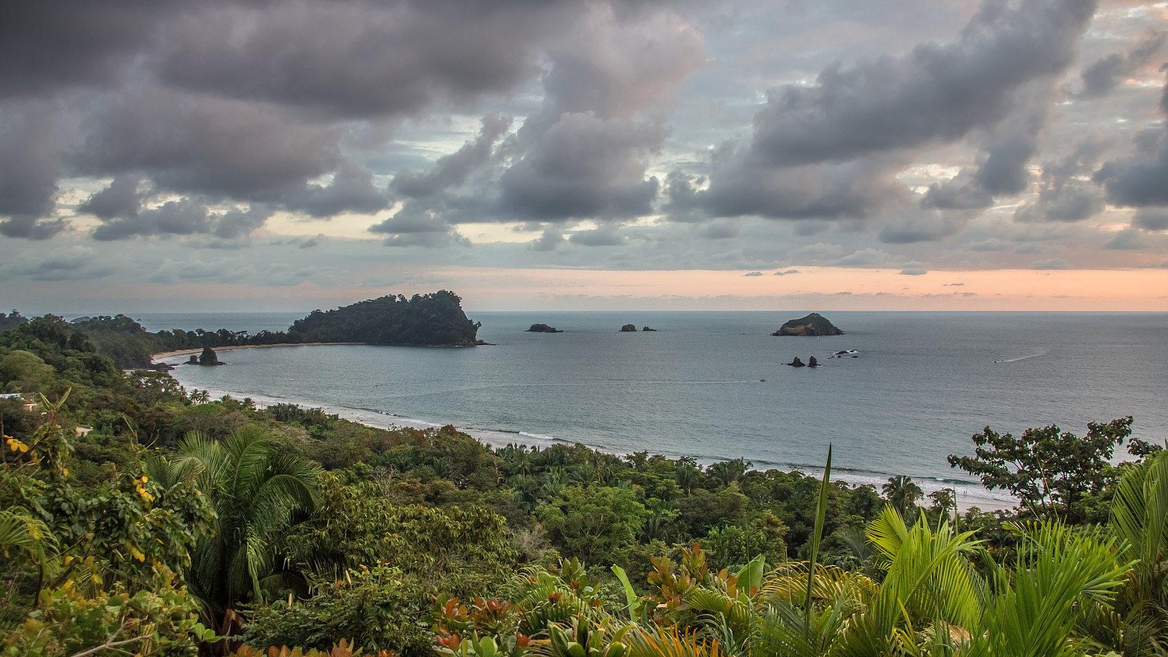 Strand von Manuel Antonio, Costa Rica