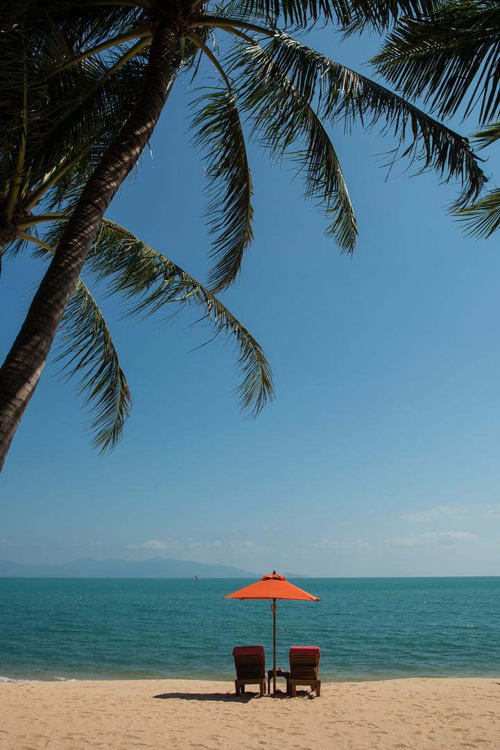 Strand von Meanam, KoSamui, Thailand
