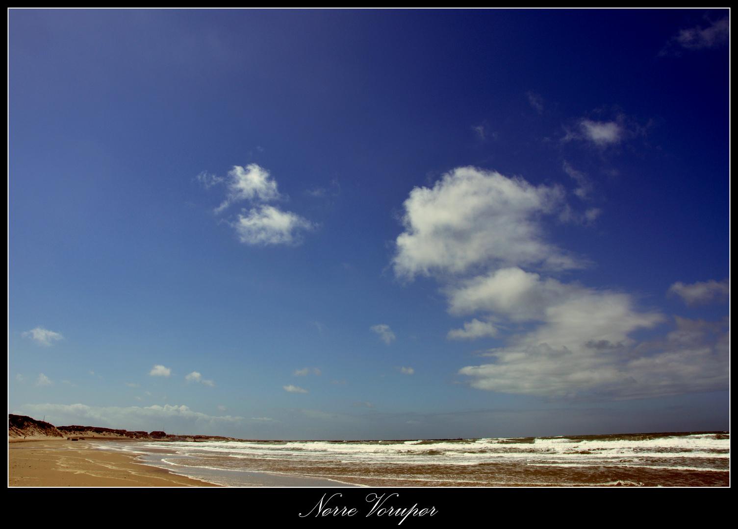 Strand von Nørre Vorupør