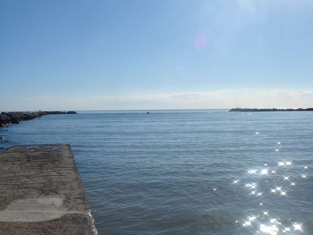 Strand von Savignano Mare