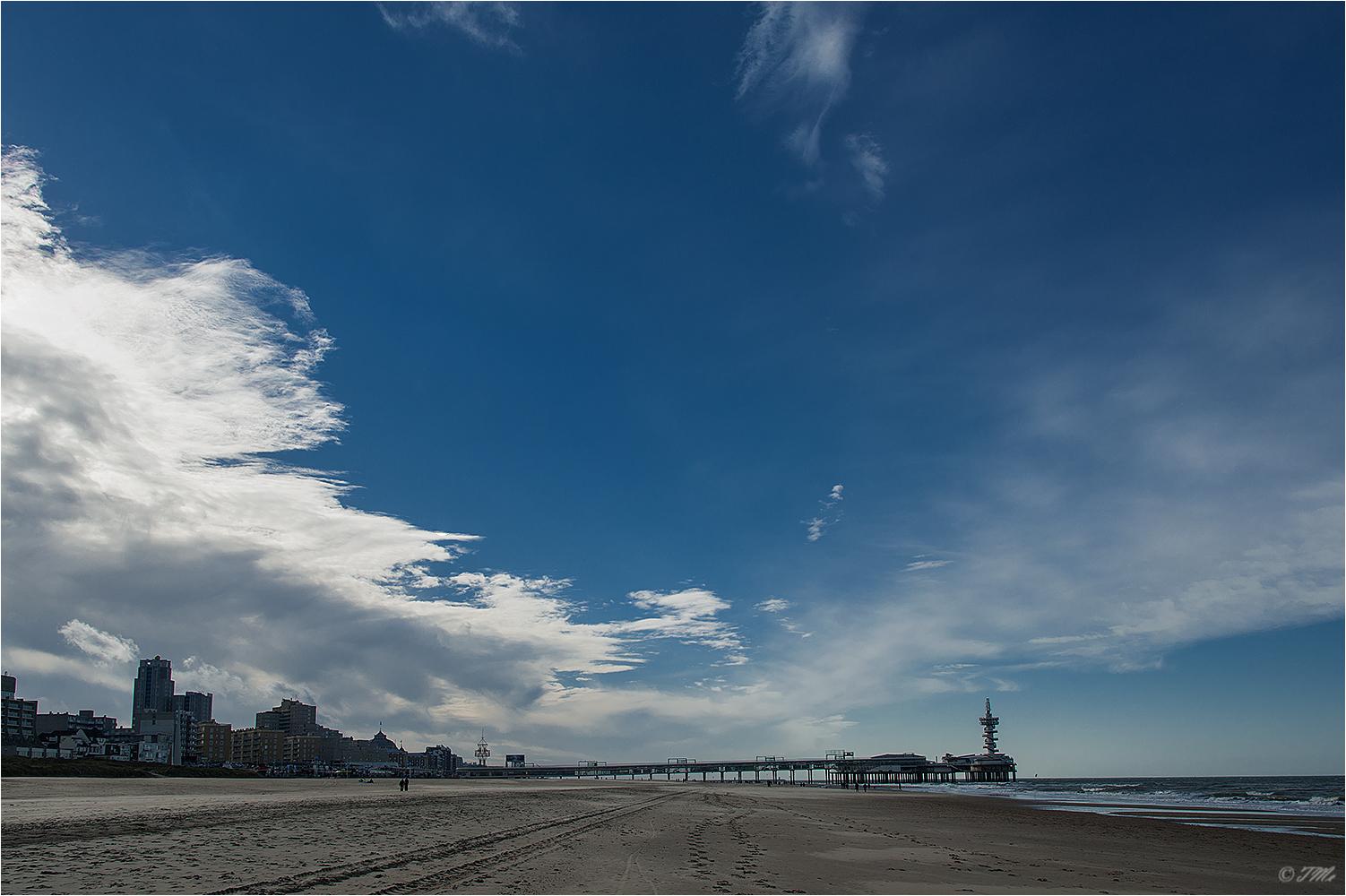 Strand von Scheveningen...