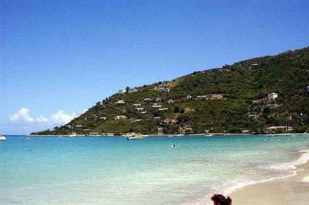 Strand von Tortola
