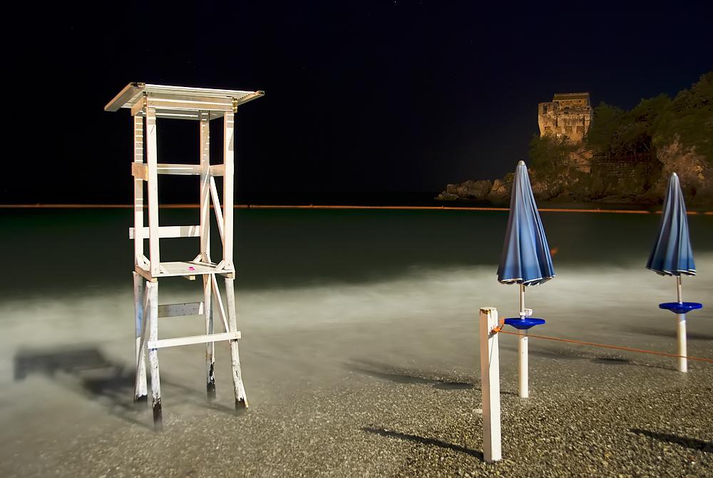 Strand von Vietri sul Mare