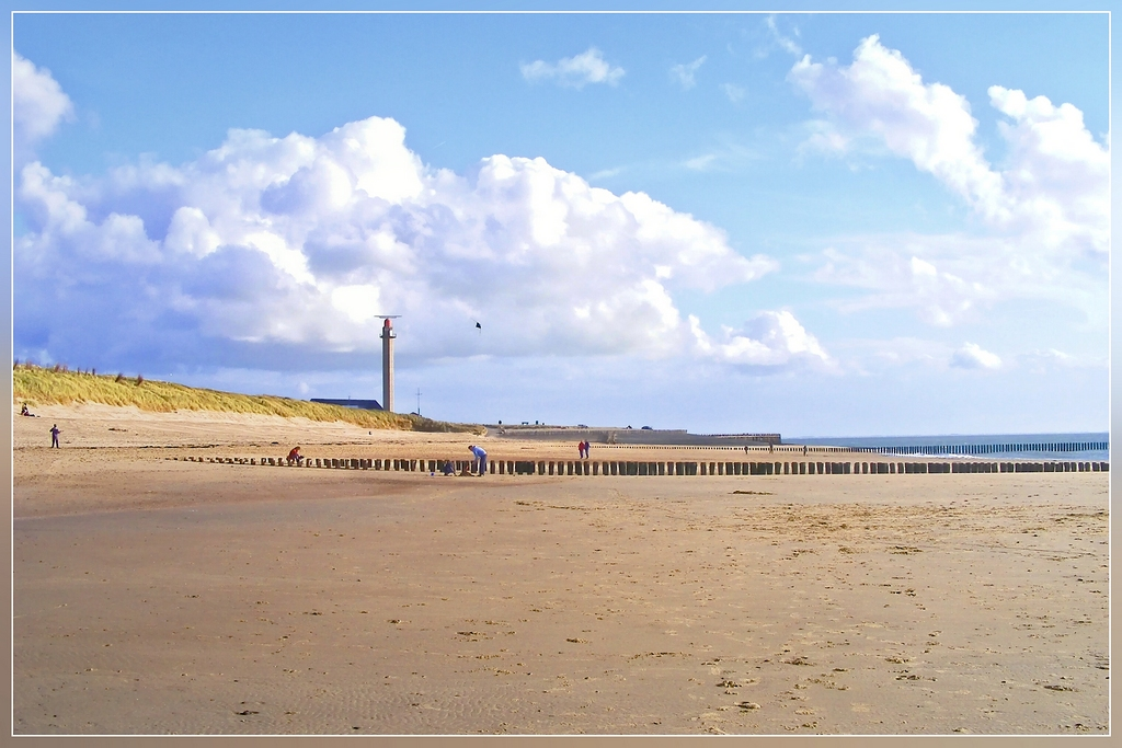 Strand von Westkapelle