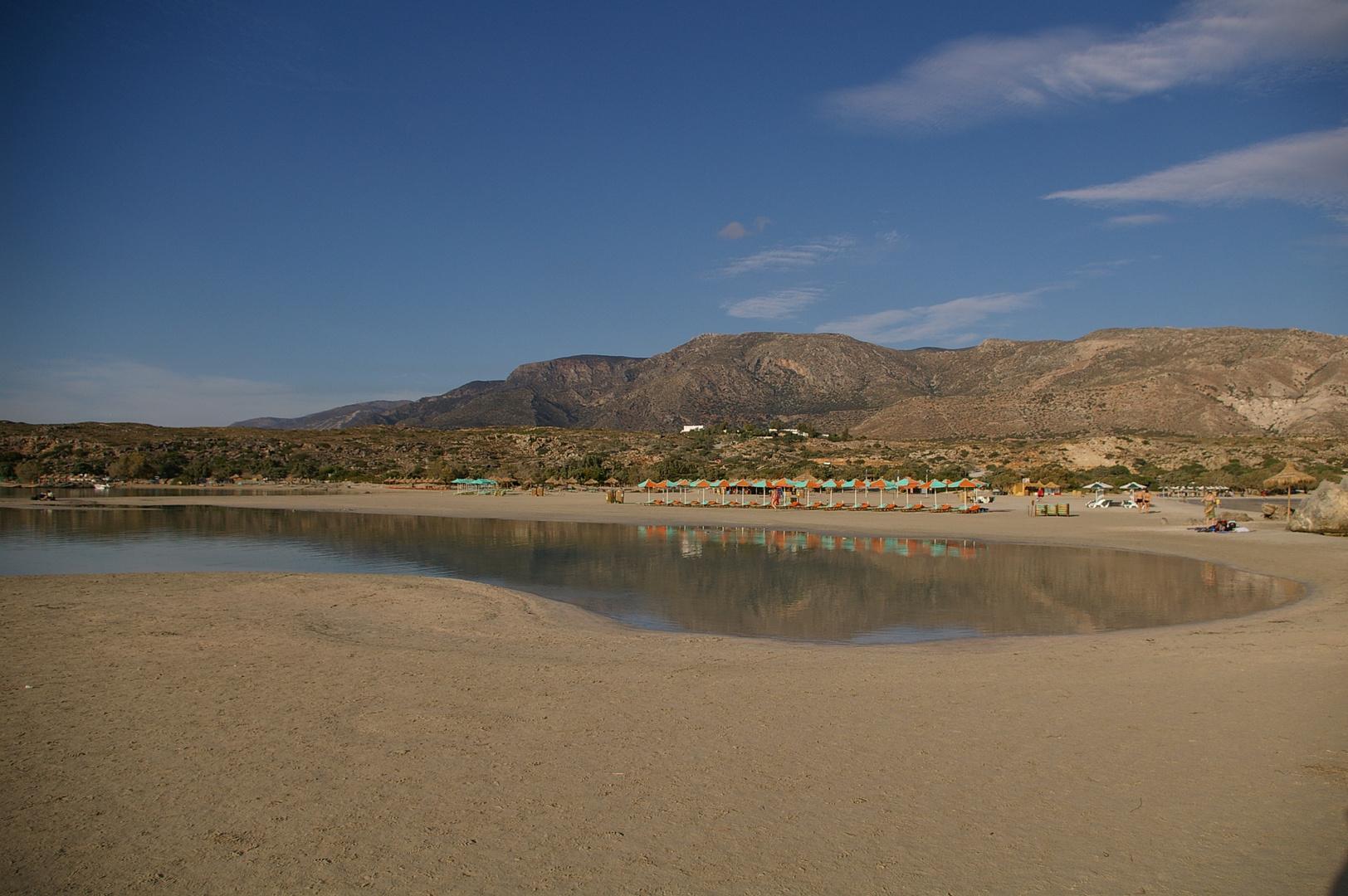 Strand vor Elafonisi