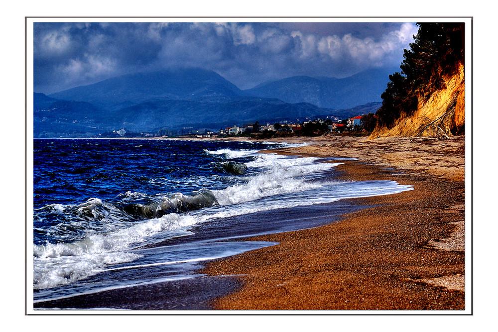 Strand vor Preveza