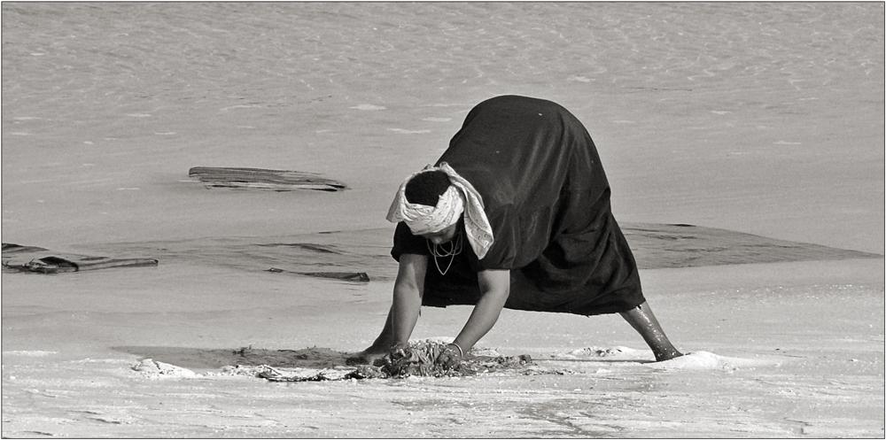 Strandarbeit