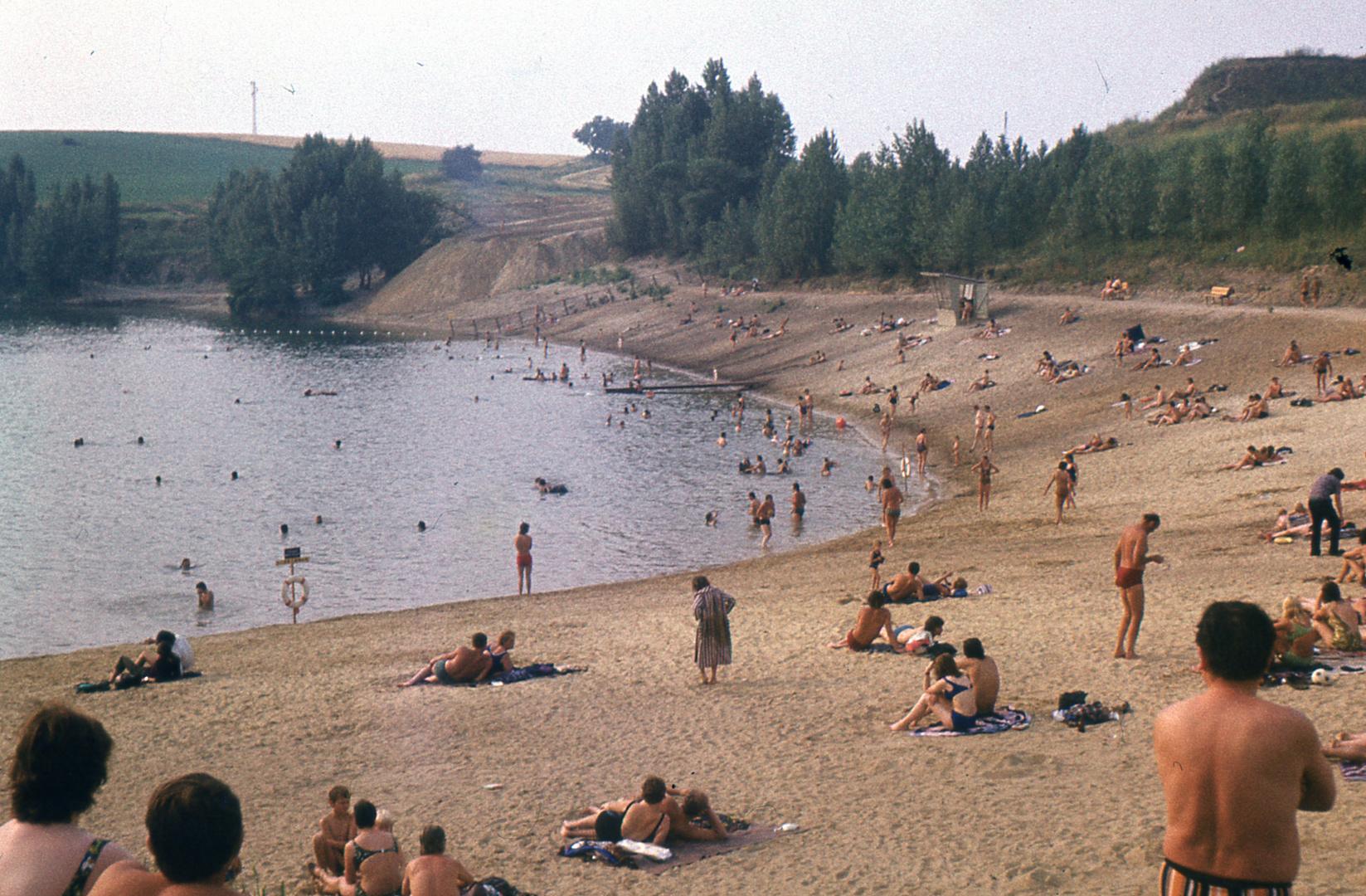 Strandbad Kretschau,Kr. Zeitz, 1973
