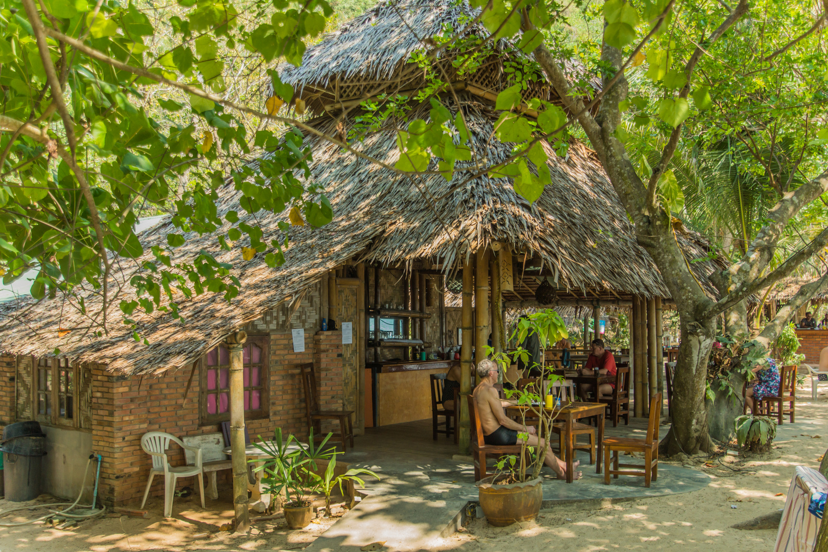 Strandbar - Aonang/Südthailand