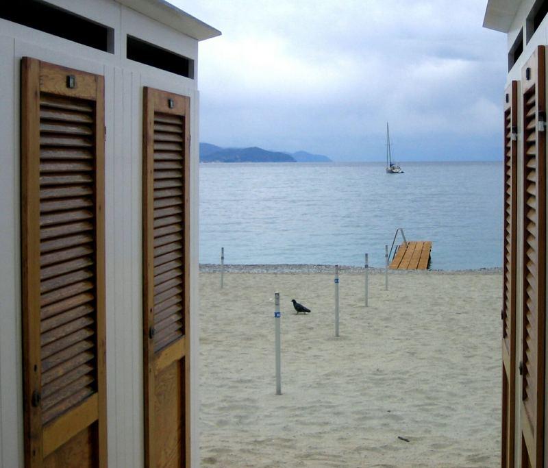 Strandblick in Santa Margherita