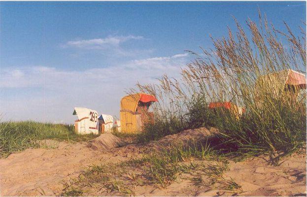 Stranddüne in Hooksiel