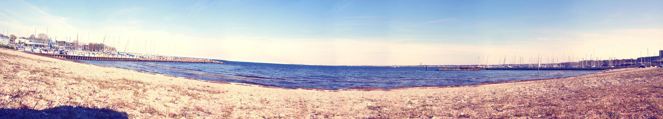 Strande vor dem Tauchgang