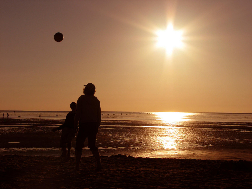 Strandfussball