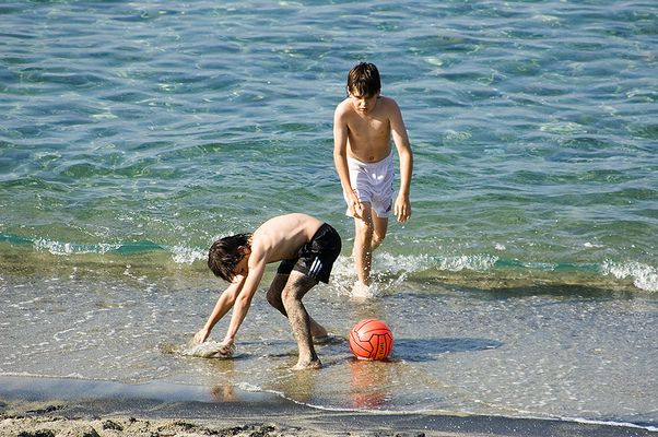 Strandfußball