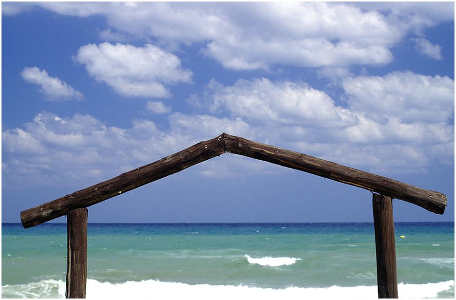 Strandhaus mit Meerblick...