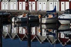 strandhaus+spiegelung schweden
