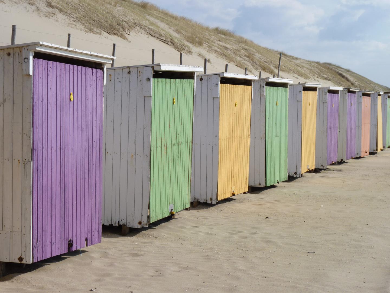 Strandhütten in Julianadorp/NL