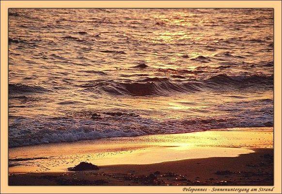 Strandidylle am Abend