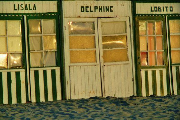 Strandkabinen, De Panne