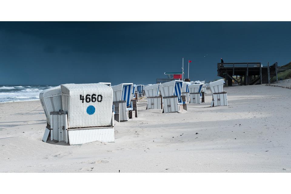 Strandkörbe #1 - Rauher Septembermorgen