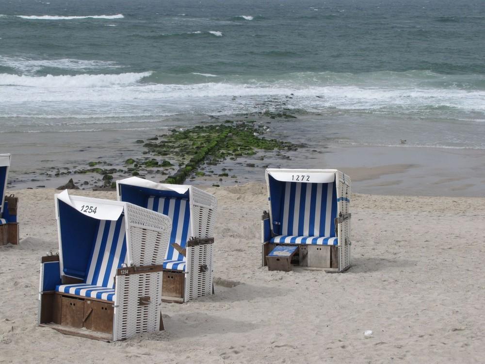 Strandkörbe am Sylter Strand