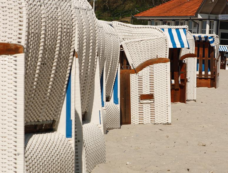 Strandkörbe in Glücksburg